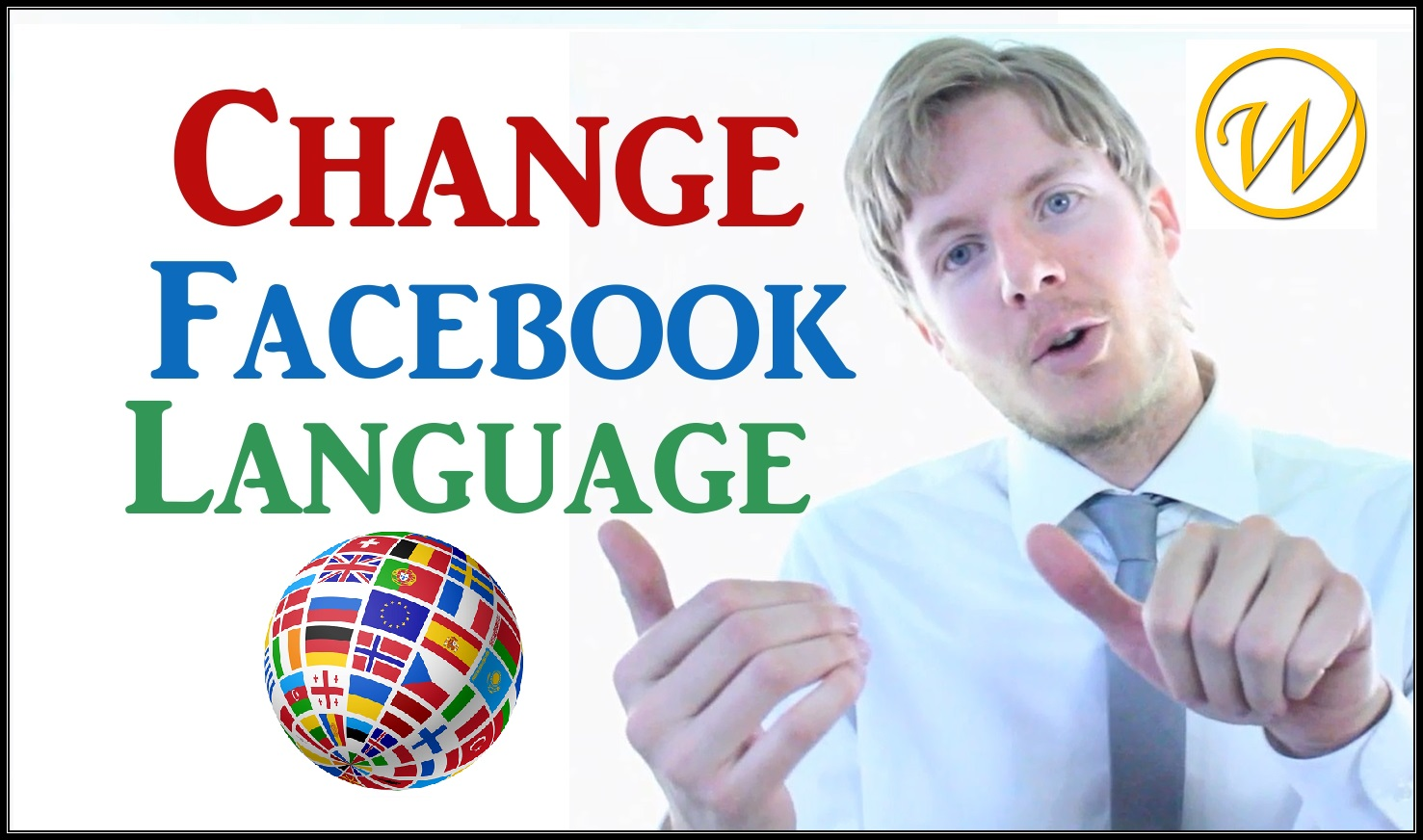 How to change your Facebook language to English