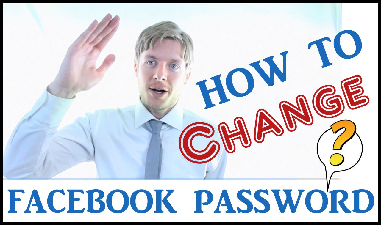 How to change Facebook password -2015