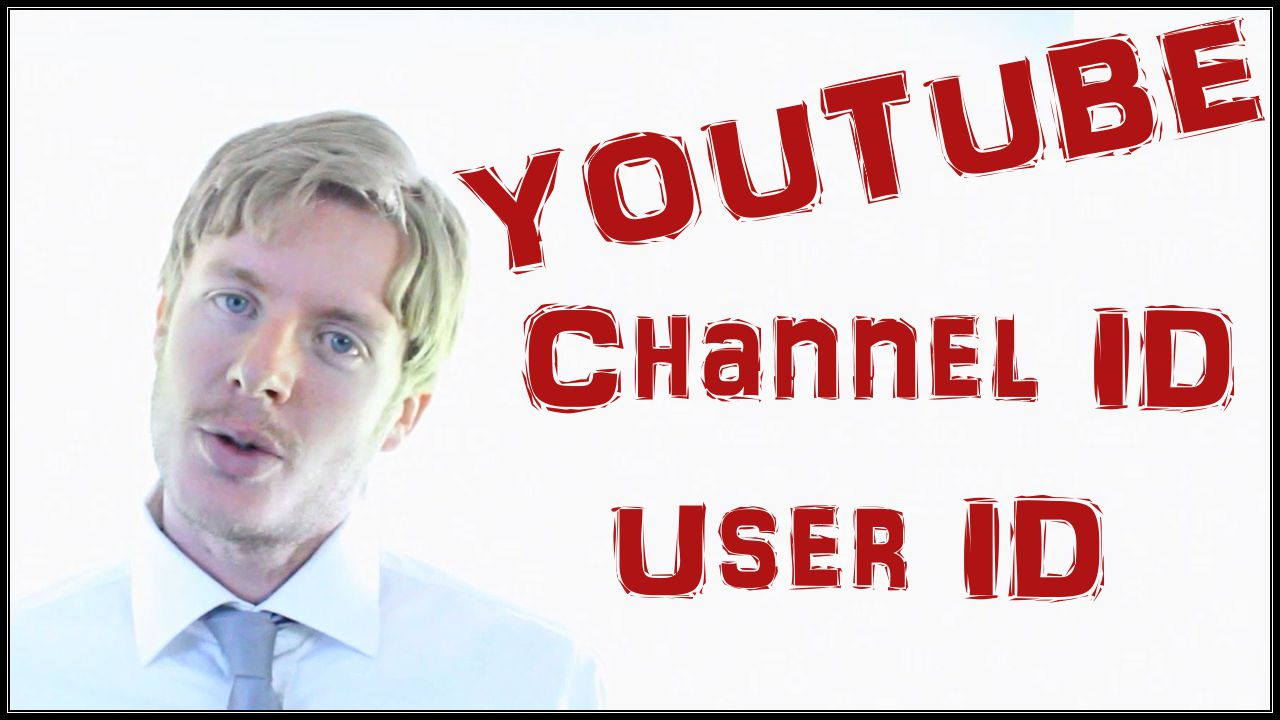 Youtube user id and youtube channel id