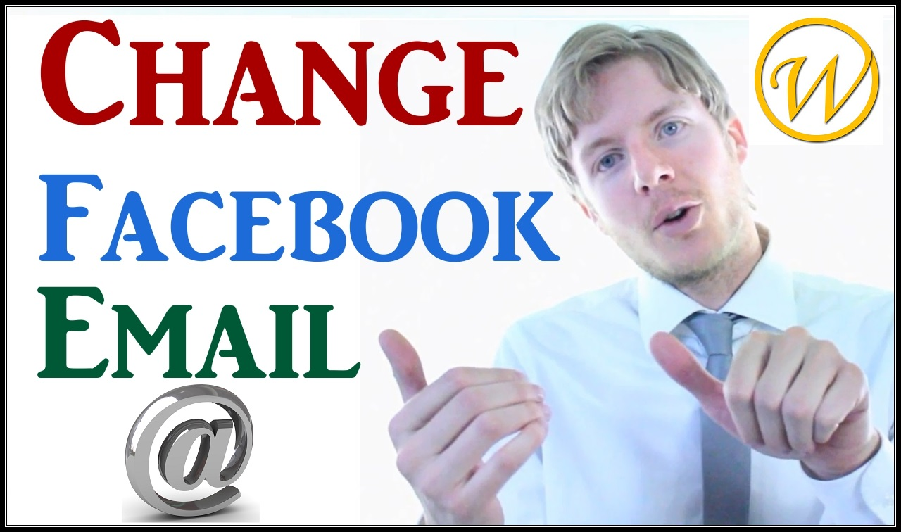 how to change facebook email