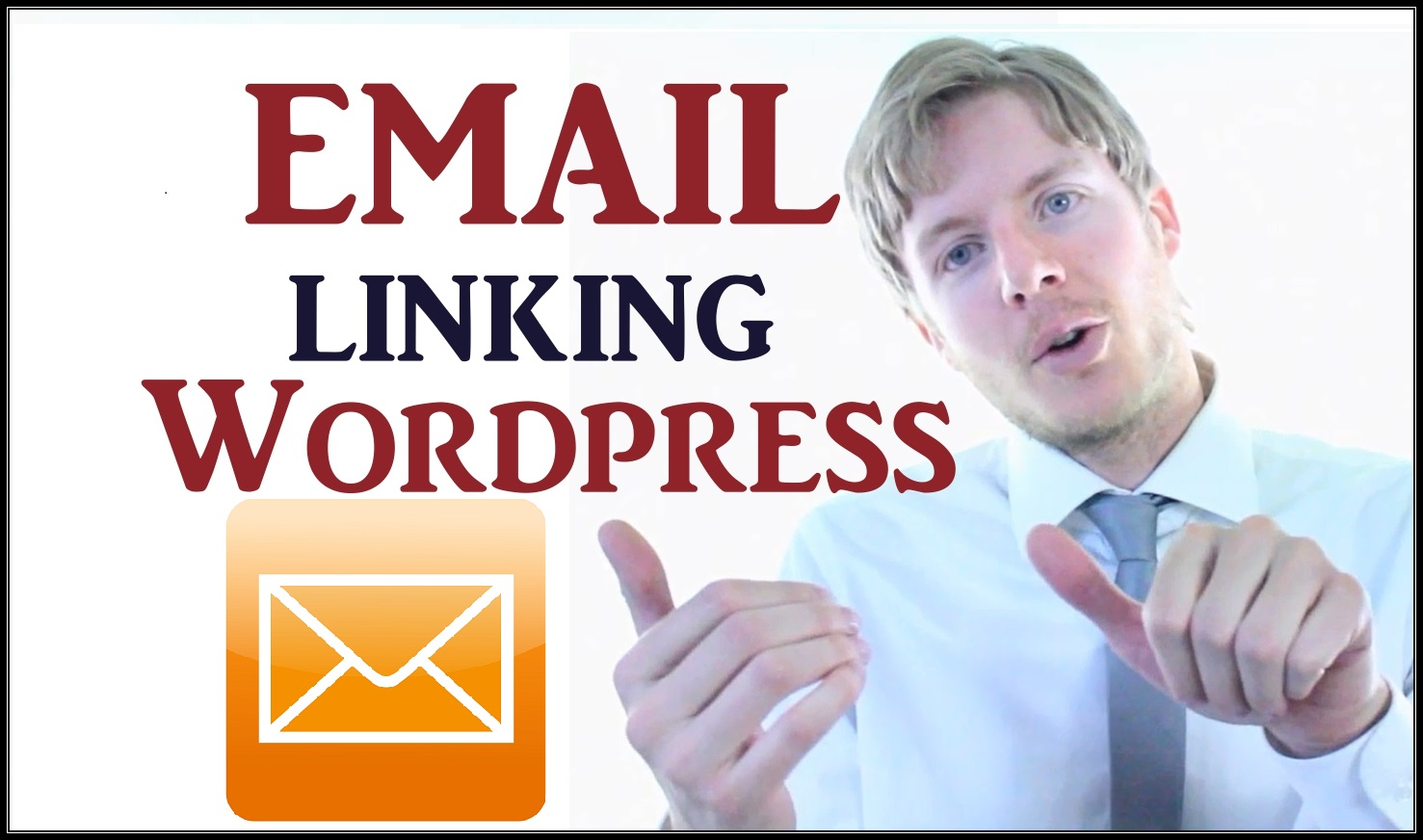 Make your email address to a link on wordpress
