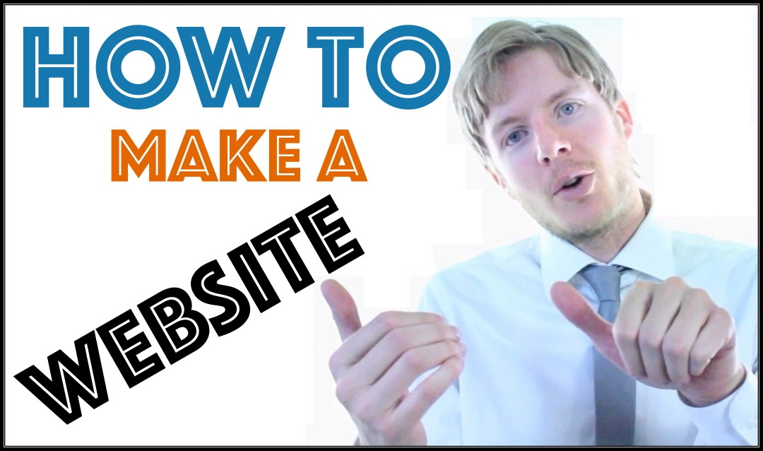 How to make a website lesson