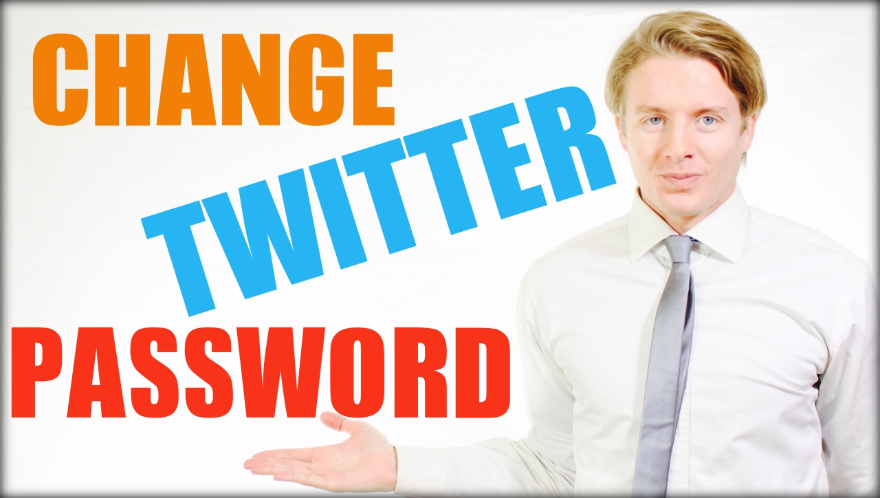 How to change Twitter password