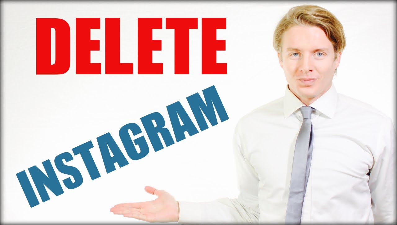 How To Delete Instagram Account Permanently 2016